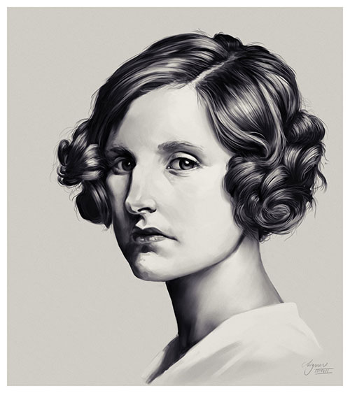 lady edith crawley by reneaigner-d5gmb0t