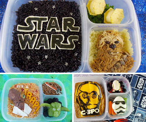 Join the dark (meat) side with this fun Star War themed bento box. Blogger BeneficialBento strives to make healthy food fun by adding creative twists to her ... & These geeky bento boxes are guaranteed to make you hungry ... Aboutintivar.Com