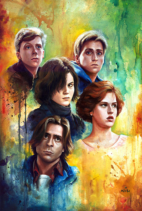 Why we can't forget The Breakfast Club, 30 years later ...