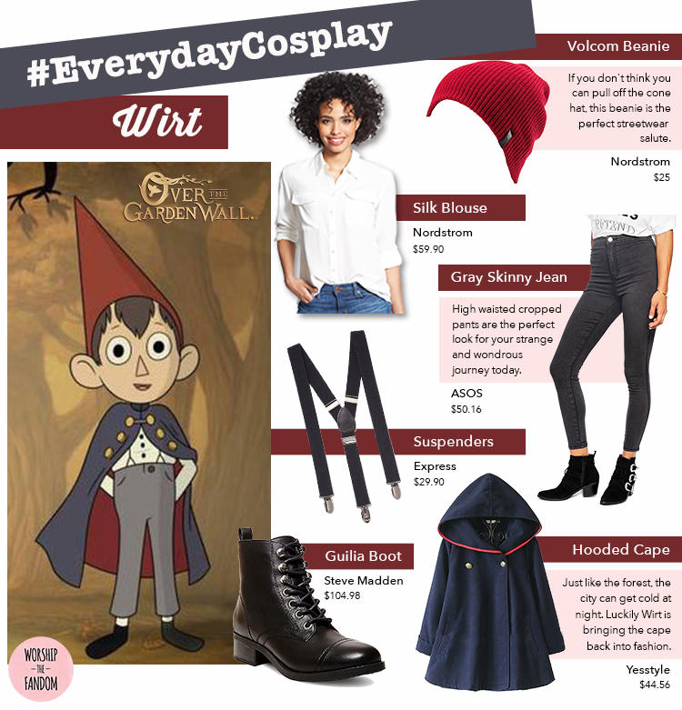 Everyday Cosplay Over The Garden Wall S Wirt Is A Style Icon